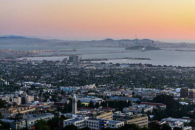Photograph - Bay Area Sunset by Jason Chu