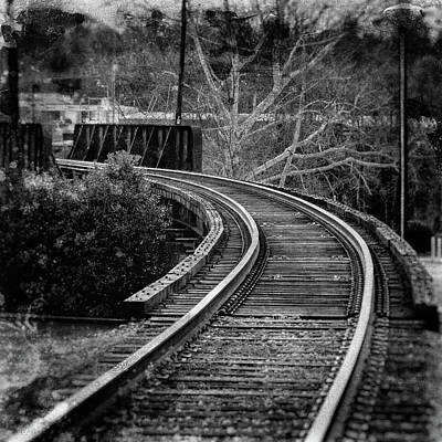 Photograph - Bay Avenue Railroad Bridge by Daryl Clark