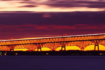 Photograph - Bay Bridge 2 by Buddy Scott
