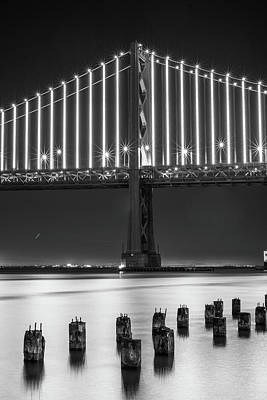 Photograph - Bay Bridge 2 by Stephen Holst