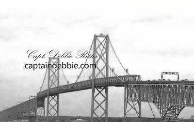 Photograph - Bay Bridge 3 by Captain Debbie Ritter