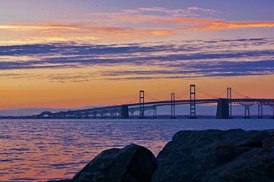 Photograph - Bay Bridge by Buddy Scott