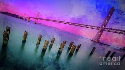 Photograph - Bay Bridge by Doug Sturgess