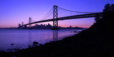 Photograph - Bay Bridge by Dustin LeFevre
