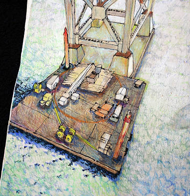 Bay Bridge Floating Shop Original