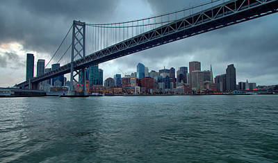 Photograph - Bay Bridge by Joe Fernandez