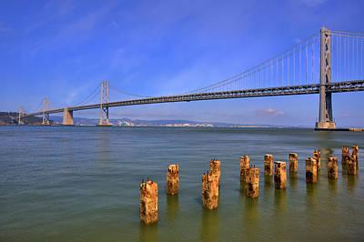Photograph - Bay Bridge by Kim Wilson