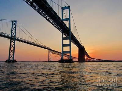 Photograph - Bay Bridge  by Nancy Patterson