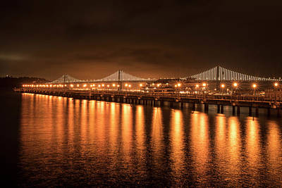 Photograph - Bay Bridge San Francisco California by Toby McGuire