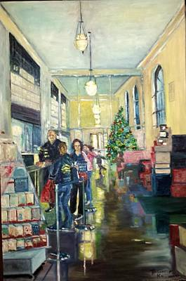 Painting - Bay City Post Office by Rosemary Kavanagh