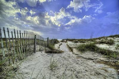 Bay County Beaches Print by JC Findley