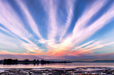 Photograph - Bay Farm Island Sunrise by Patricia Sanders