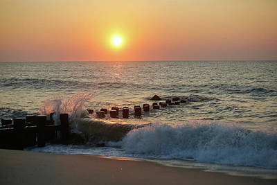 Photograph - Bay Head Beach Sunrise 1 by Kathleen McGinley