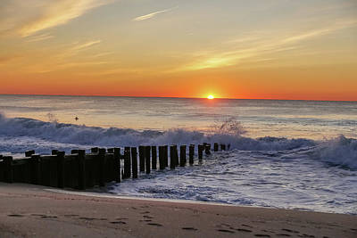 Photograph - Bay Head Sunrise by Kathleen McGinley