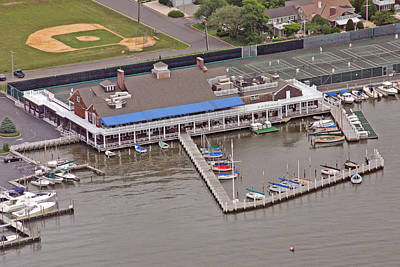 Photograph - Bay Head Yacht Club by Duncan Pearson