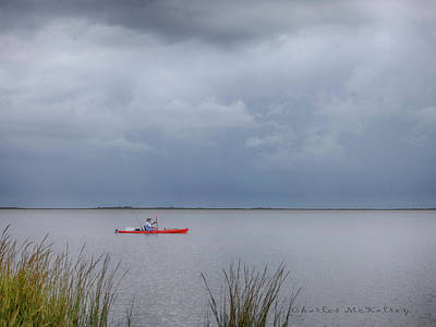 Photograph - Bay Kayaking  by Charles McKelroy