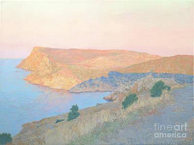 Painting - Bay Kuron In The Morning Light. by Simon Kozhin