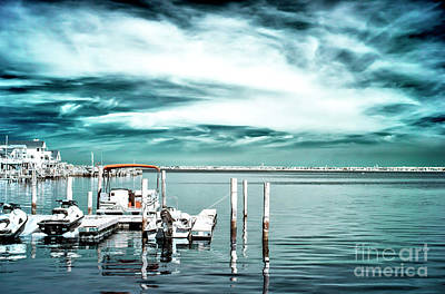 Photograph - Bay Morning Infrared At Long Beach Island by John Rizzuto