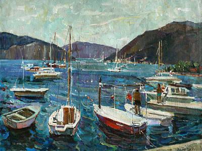 Painting - Bay Of Tivat by Juliya Zhukova