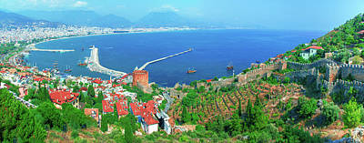 Photograph - Bay On The Harbor Of Alanya by Sun Travels