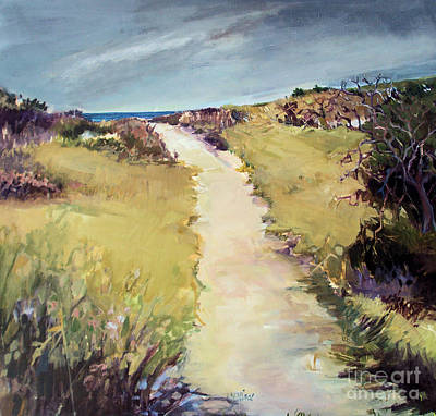 Bay Path Art Print by Diane Ursin