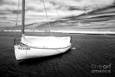 Photograph - Bay Sailboat by John Rizzuto