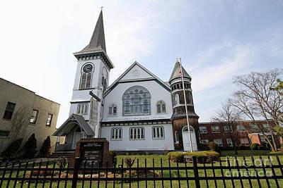 Photograph - Bay Shore Methodist Episcopal Church by Steven Spak