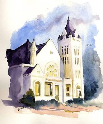 Bay Street Presbyterian Church Art Print
