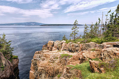 Photograph - Bay View From Raven's Nest by John M Bailey