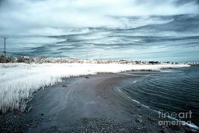 Photograph - Bay View Infrared by John Rizzuto
