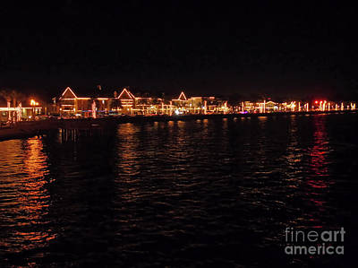 Photograph - Bay View Of Nights Of Light by D Hackett