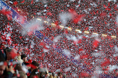 Photograph - Bayern Munich Party In The Stadium by Rudi Prott