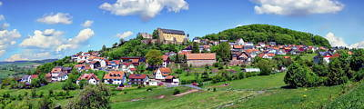 Photograph - Bayern Village Panorama by Anthony Dezenzio
