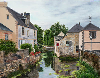 Painting - Bayeux, France by Alice Betsy Stone