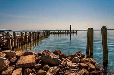 Photograph - Bayfield City Dock by Lonnie Paulson