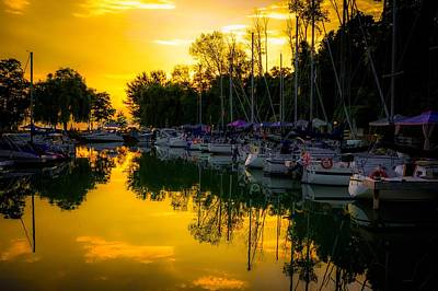 Photograph - Bayfield Marina by Karl Anderson
