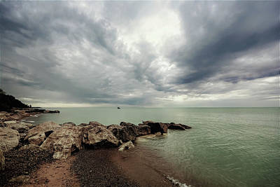 Photograph - Bayfield Morning Storm by Karl Anderson