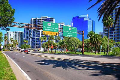 Photograph - Bayfront Drive Sarasota Fl, Usa by Chris Smith