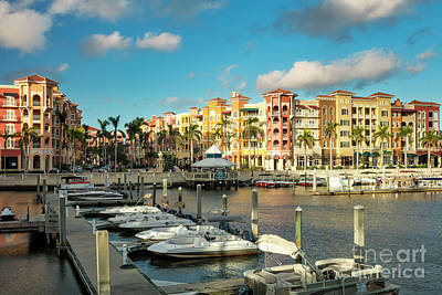 Photograph - Bayfront - Naples by Brian Jannsen
