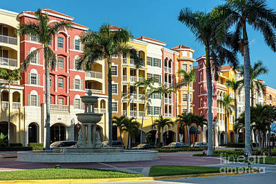 Photograph - Bayfront Of Naples by Brian Jannsen