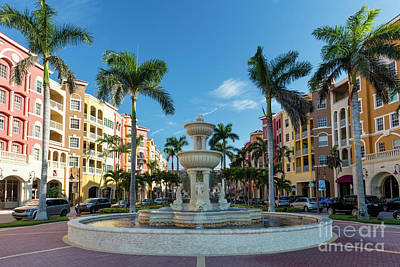 Photograph - Bayfront Of Naples II by Brian Jannsen