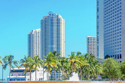 Bayfront Park Photograph - Bayfront Park, Miami, Florida by Art Spectrum