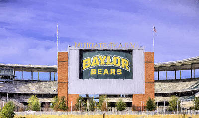 Photograph - Baylor Bears by JC Findley