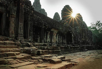 Photograph - Bayon Temple by Paki O'Meara