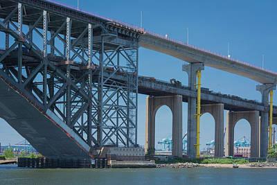 Photograph - Bayonne Bridge Raising 3 by Kenneth Cole