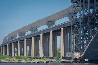 Photograph - Bayonne Bridge Raising #5 by Kenneth Cole