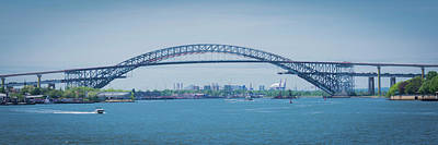 Photograph - Bayonne Bridge Raising by Kenneth Cole