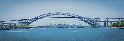 Photograph - Bayonne Bridge Raising by Kenneth Cole