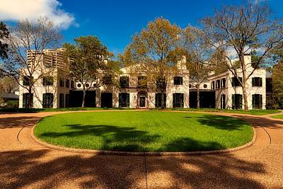 Photograph - Bayou Bend Collection Estate House by L O C