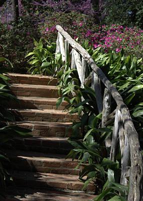 Bayou Bend Gardens Art Print